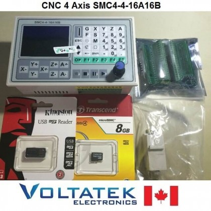 SMC4-4-16A16B CNC 4 Axis Controller for CNC Router Engraver Machine