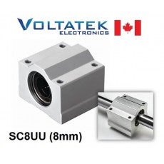 SC8UU 8mm Linear Bearing Block LM8UU for CNC Router 3D Printer