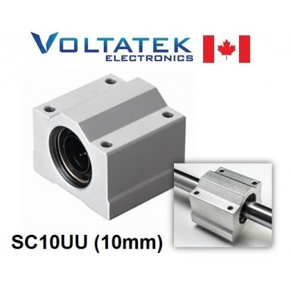 SC10UU 10mm Linear Bearing Block LM10UU for CNC Router 3D Printer