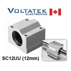 SC12UU 12mm Linear Bearing Block LM12UU for CNC Router 3D Printer