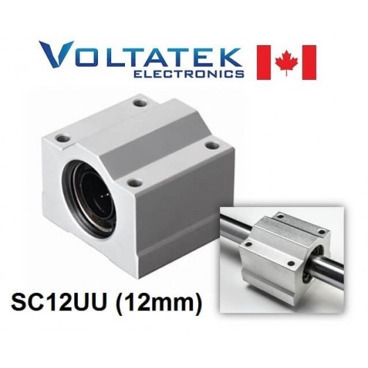 SC12UU (SCS12UU) 12mm Linear Bearing Block for CNC Router 3D Printer