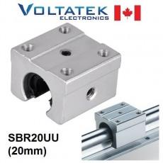 SBR20UU 20mm Linear Ball Bearing Block for CNC Router
