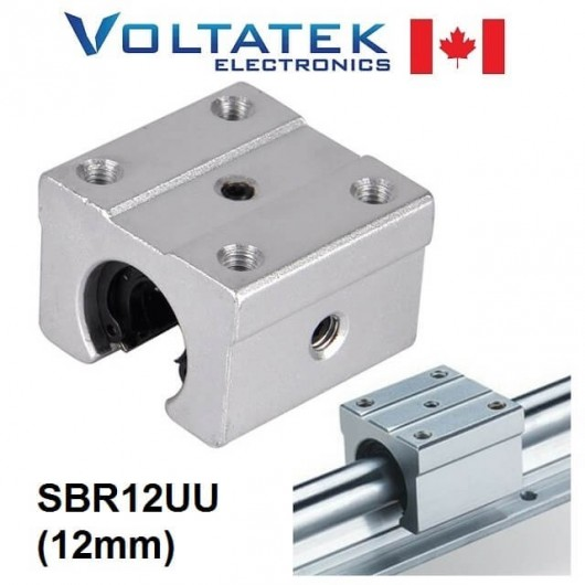 SBR12UU 12mm Linear Ball Bearing Block for CNC Router