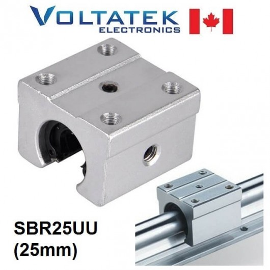 SBR25UU 25mm Linear Ball Bearing Block for CNC Router