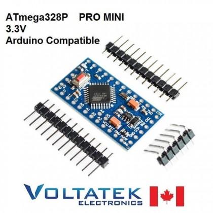 Pro Mini ATMEGA328 Board 3.3V 8M Arduino Compatible