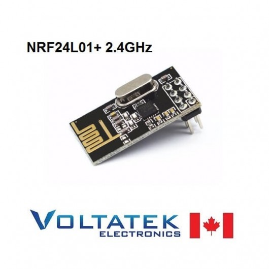 NRF24L01+ 2.4GHz Wireless Transceiver Radio Module