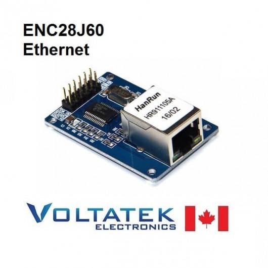 ENC28J60 Ethernet LAN Network Module for Arduino
