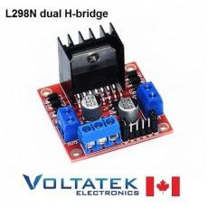 L298N Stepper Motor Drive Controller dual H-bridge DC module