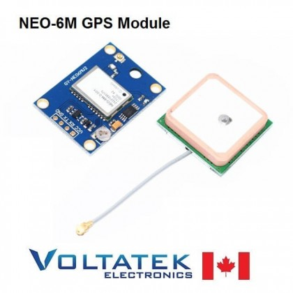 Ublox NEO-6M GPS Module for Aircraft Flight Controller (Arduino MWC IMU APM2)