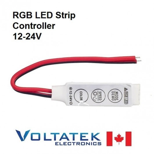 Mini RGB controller 12V for LED strips