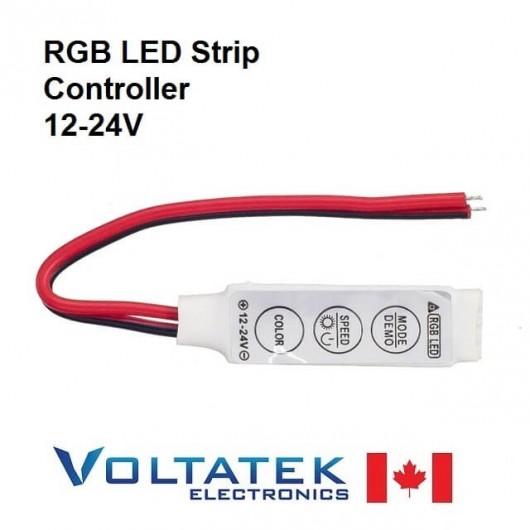 Mini RGB controller 12V for LED strips