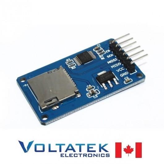 Micro SD Card TF Card Reader Breakout Module SPI Interface for Arduino