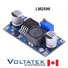 LM2596 Adjustable DC Buck Step Down Converter Power Supply Module