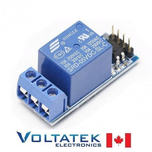 Relay Module 1 channel 5V with Optocoupler Isolation