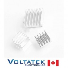 Heatsink Kit for Raspberry Pi (3 pieces)
