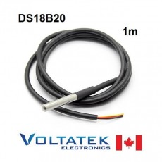 Waterproof Digital Temperature Probe Sensor DS18B20 1M