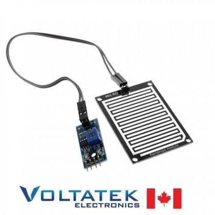 Rain Drop Detection Sensor Module