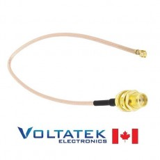 U.FL IPX to SMA Female Pigtail Cable for WiFi Antenna