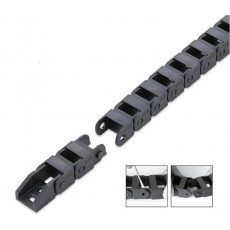 Drag Chain Cable Carrier 10x20mm x 1 meter with End Connectors 1000mm