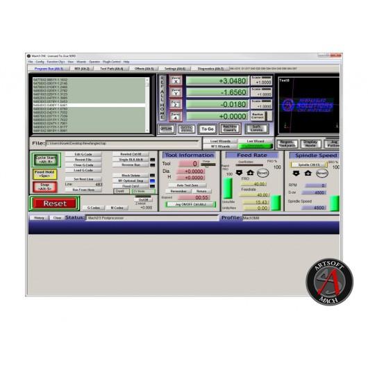Mach3 CNC Software for Machine Control Full License