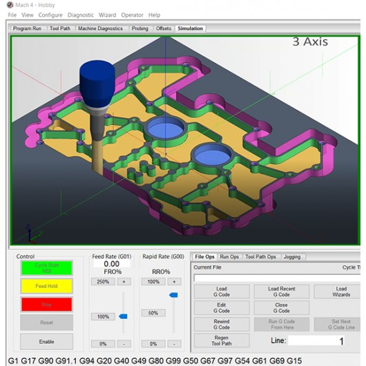 Mach4 Hobby 3D Cutting Simulator Plugin License