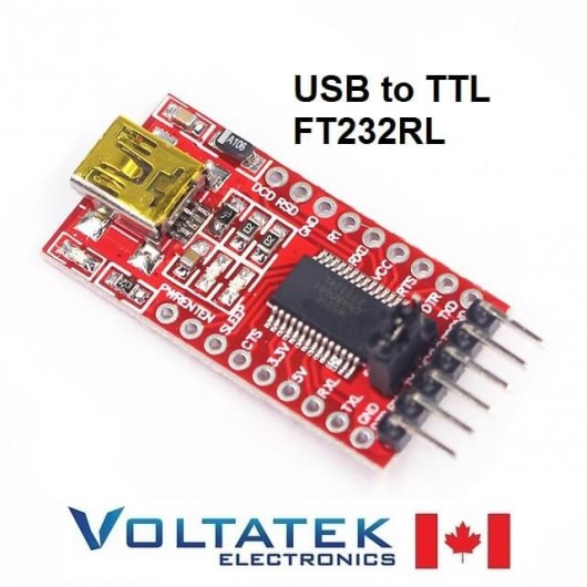 USB to TTL Serial Adapter Module FT232RL