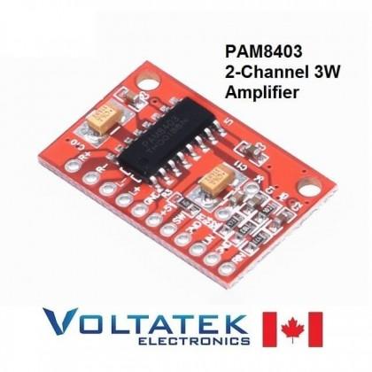 PAM8403 2-Channel 3W Audio Amplifier