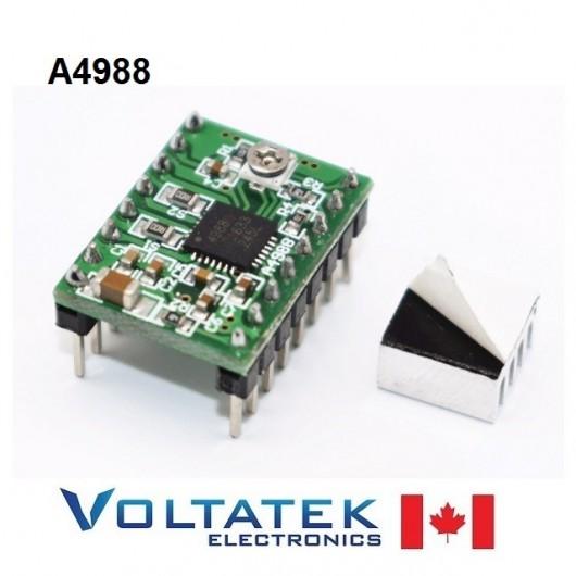 A4988 Stepper Motor Driver Module with Heatsink