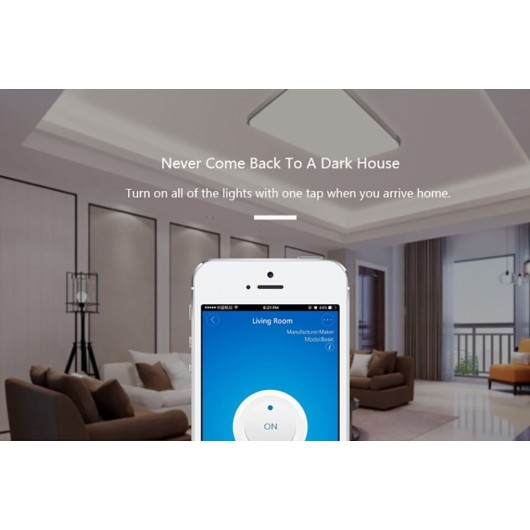 Sonoff Basic Wifi Switch For Phone Smart Wireless for Google & Alexa