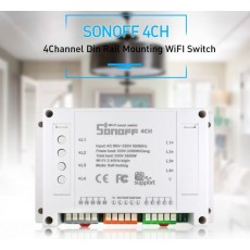 Sonoff 4 channel Wireless Wifi Switch For Phone Smart Home Automation
