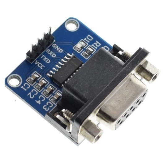 MAX3232 RS232 to TTL Serial Port Converter Module DB9 Connector
