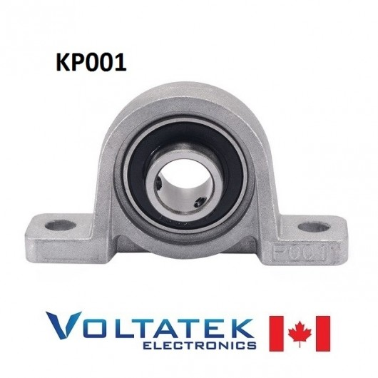 KP001 12mm Pillow Block Bearing