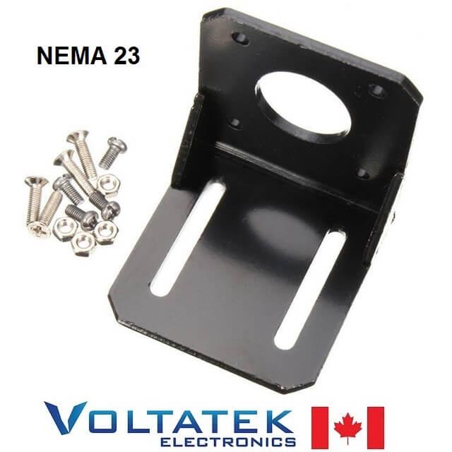 Nema 23 motor mount bracket