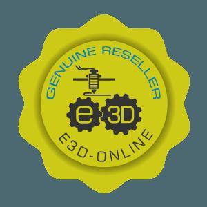 E3D Genuine reseller Logo