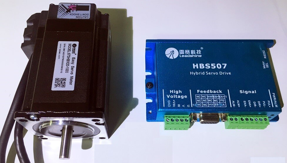 Servomotor and driver