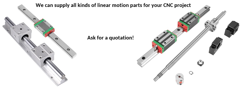 CNC Router Parts Linear Motion Quotation